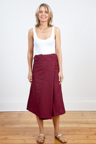 Fisherman Skirt 3/4 Length
