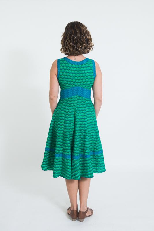 Lil Dress Long - Green Drop