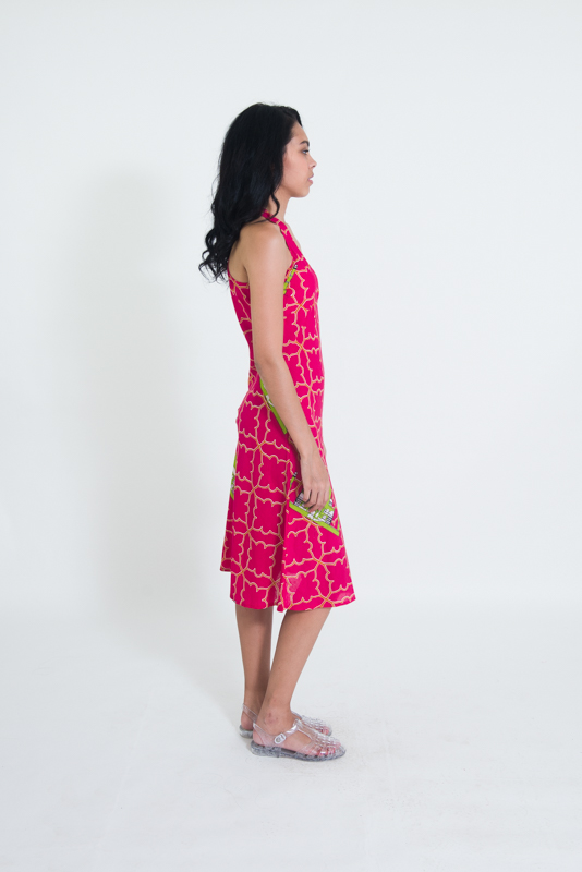 Panelop Dress - Taj Mahal Print