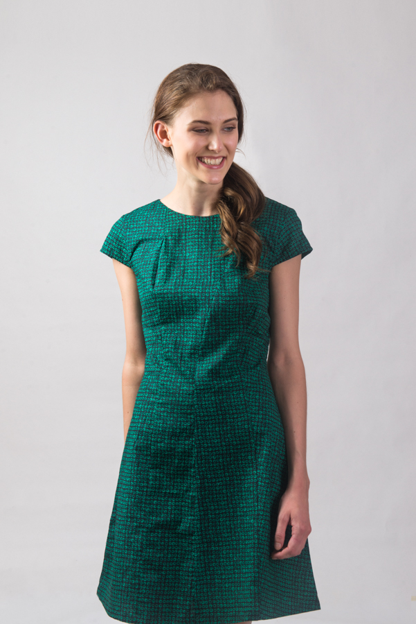 Addison Dress - Green Dot