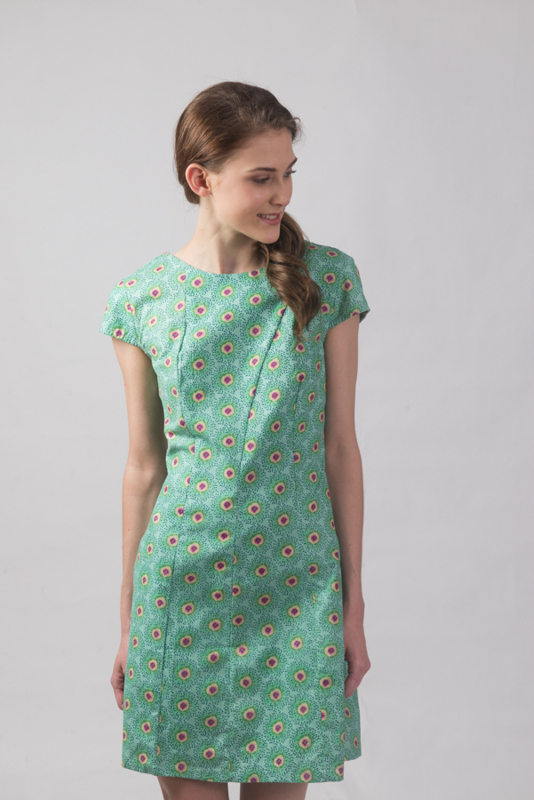 Addison Dress - Kiwi