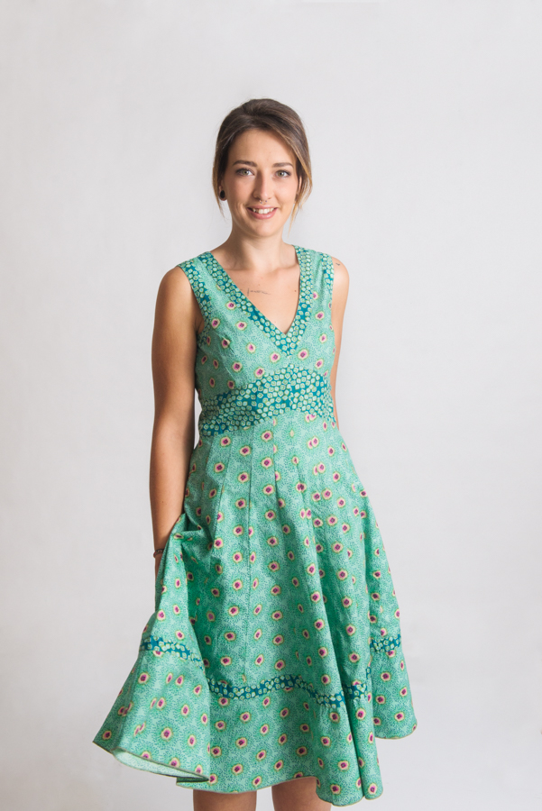 Lil Dress Long - Kiwi