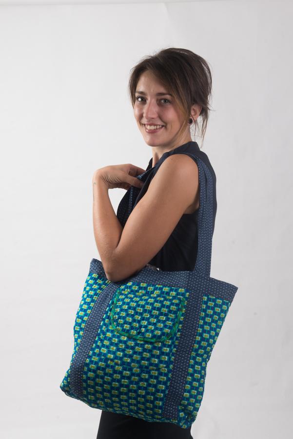 Nookhi Bag - Mod Blue