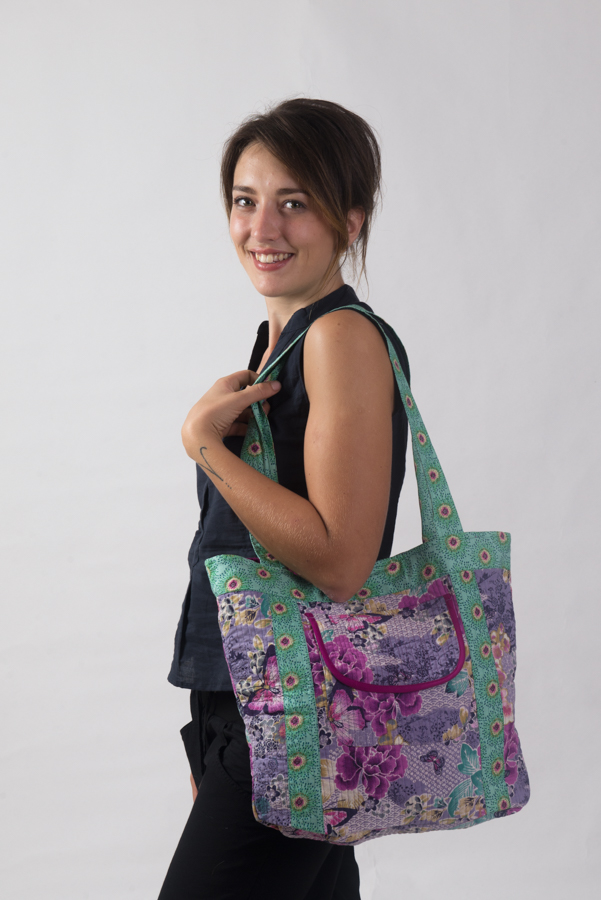 Nookhi Bag - Purple Butterfly