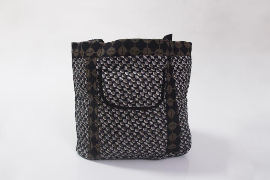 Nookhi Bag - Mogra Black