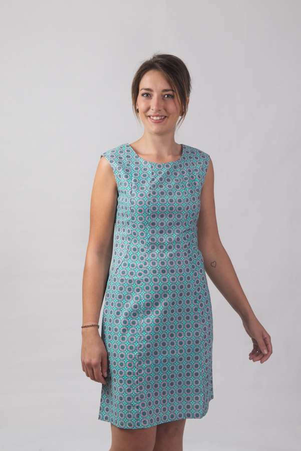 Patti Dress - Yakrdi Print