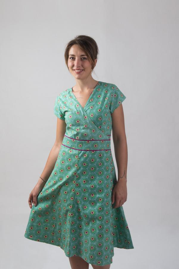 Wrap Dress - Kiwi
