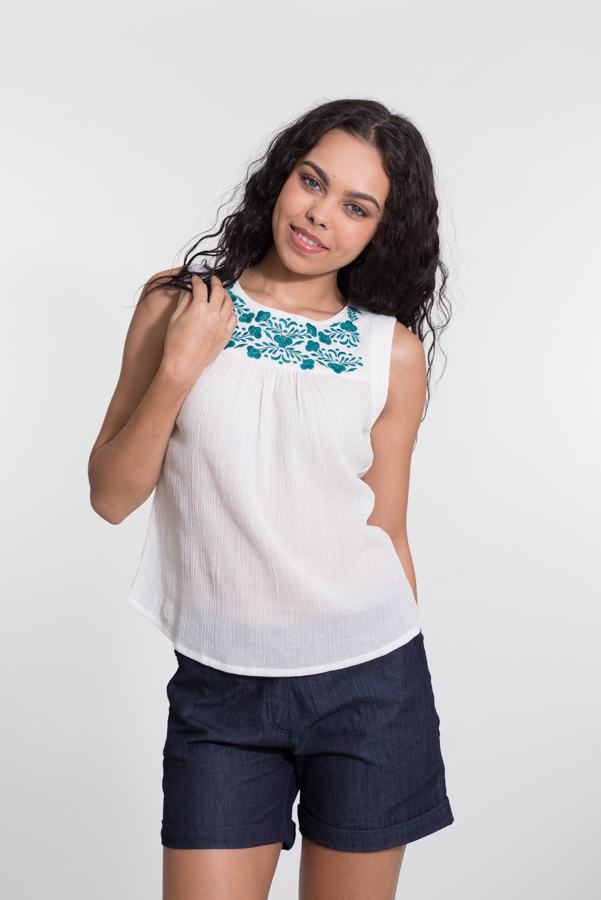 Ginger Top - with Embroidery