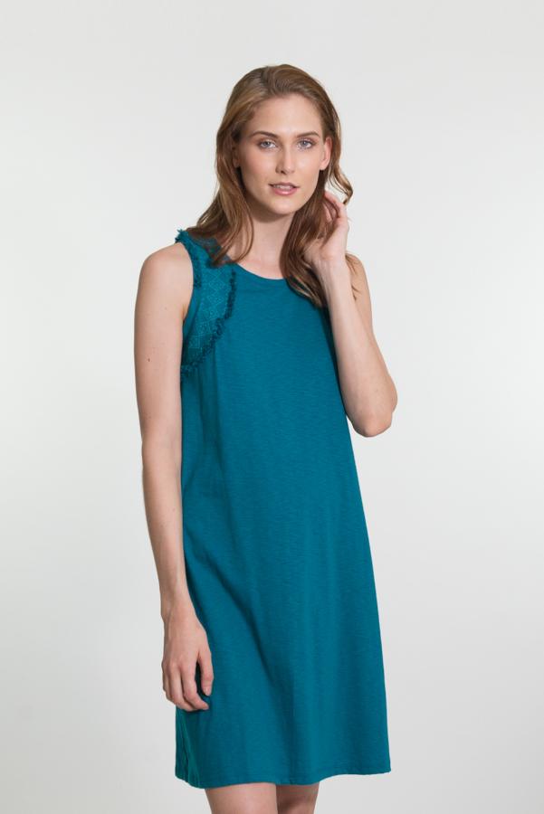 Ilaichee Dress - Turquoise
