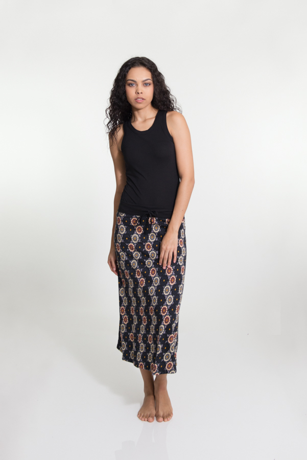 Takatak Skirt Long - Bundi Grey