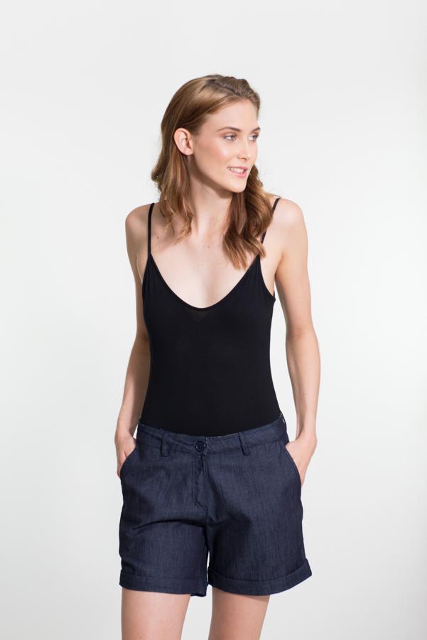 Laleeta Shorts Short - Denim