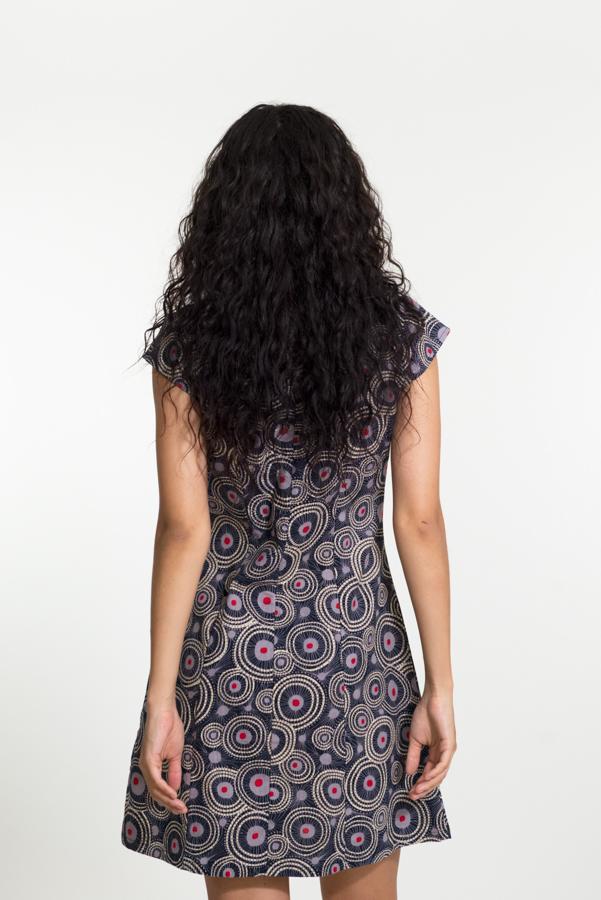 Addison Dress - New Virus Grey