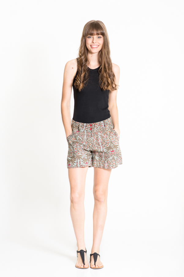 Alexi Shorts - China Green