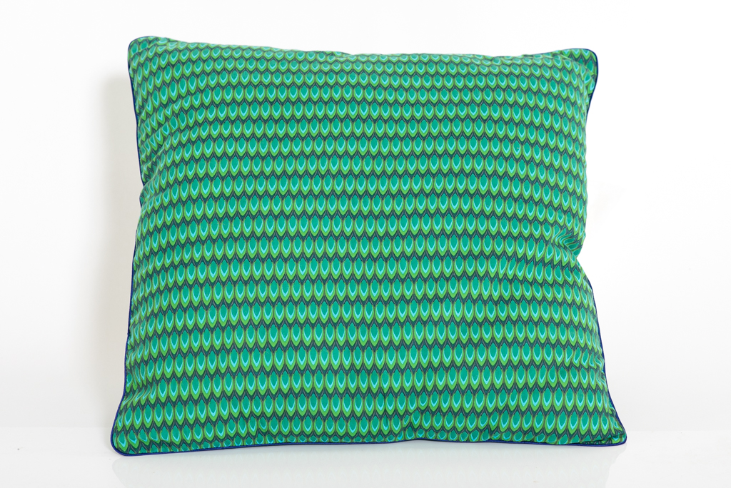 Cushion Cover - Green Drop