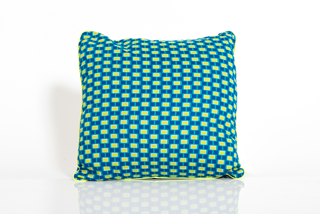 Cushion Cover - Mod Blue