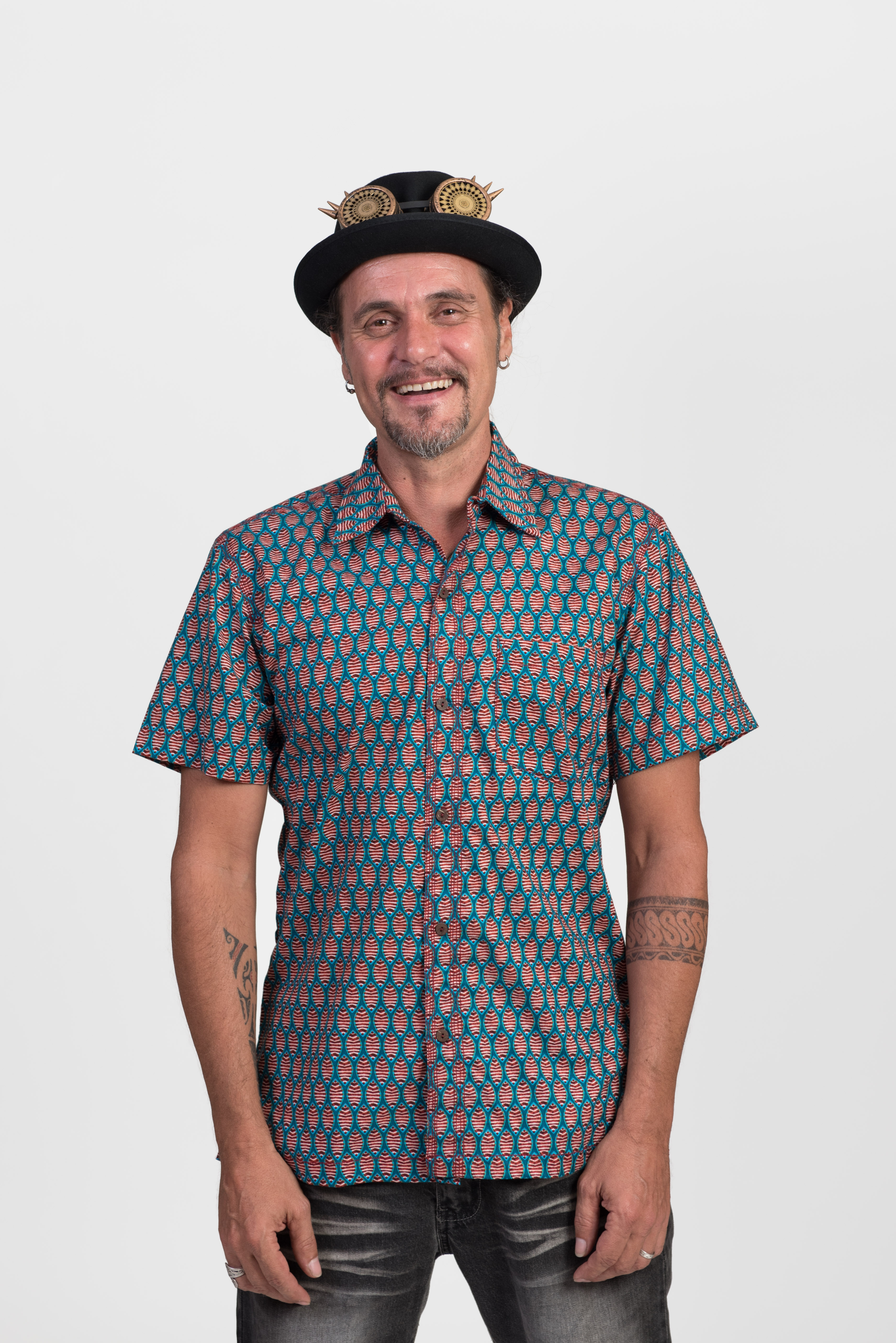 Men's Shirt - Fish Print