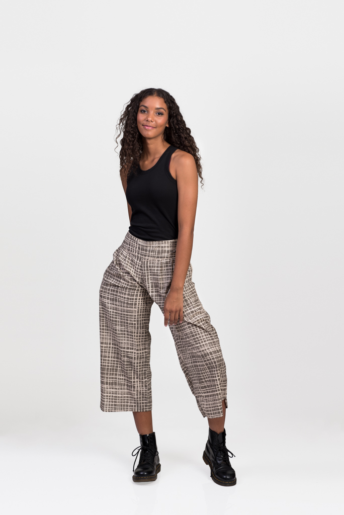 Fifi Pants - Grey Check