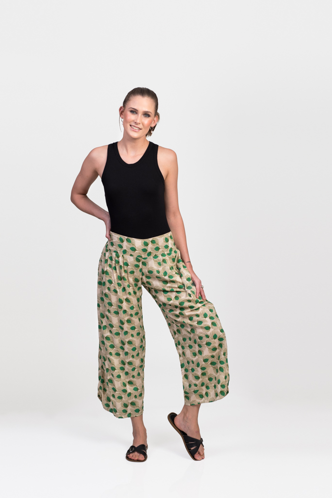 Fifi Pants - Sand Feather