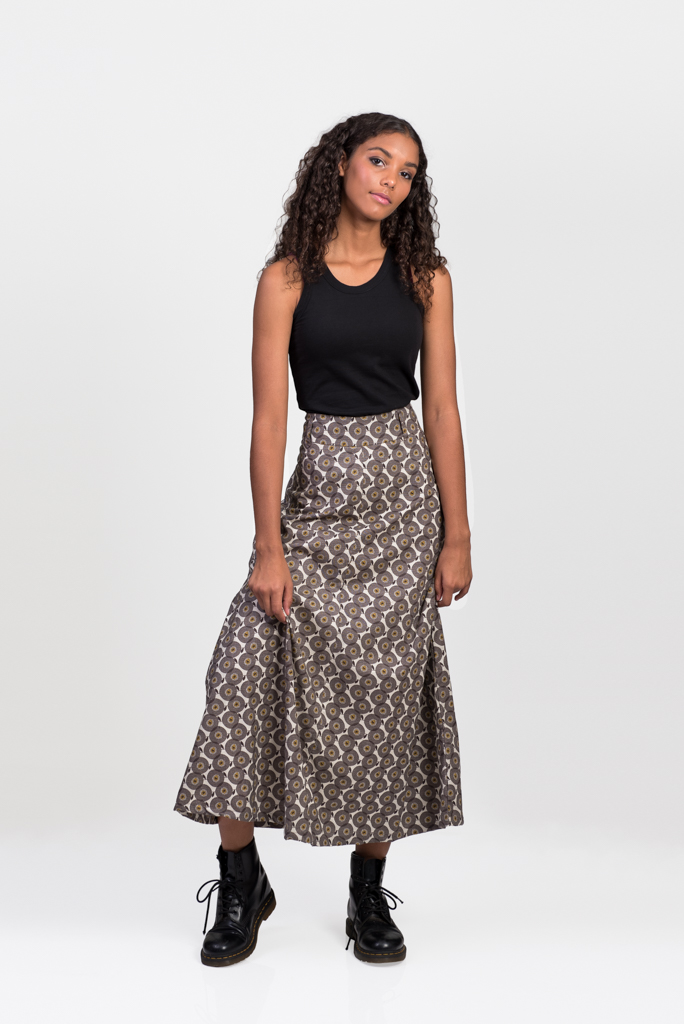Sita Maxi Skirt - Angel Brown
