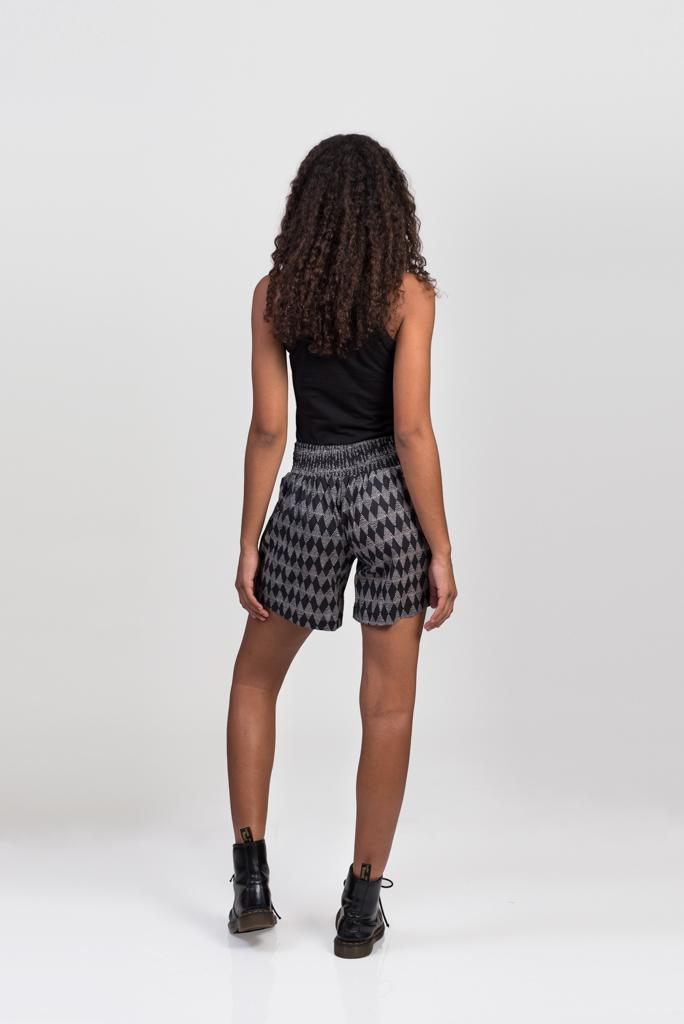 Devi Shorts - Black Diamond