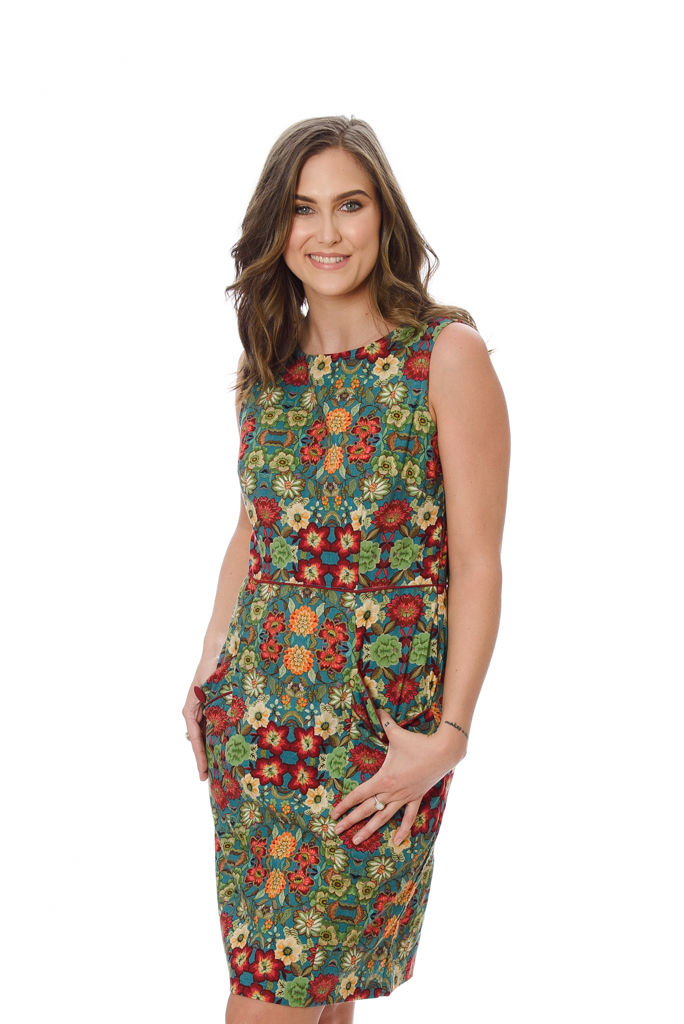 SYDNEY WOMENS DRESS – SPRING FLOWERS