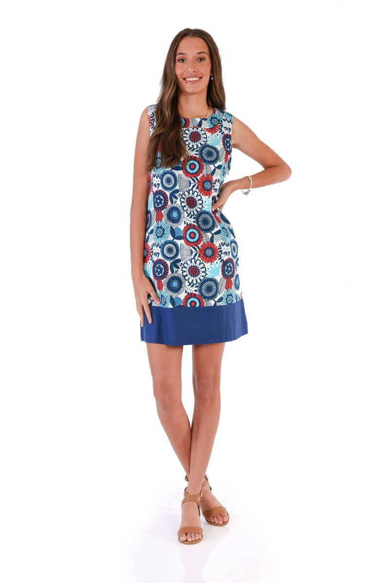 womens Millie Dress - Passion Flower front