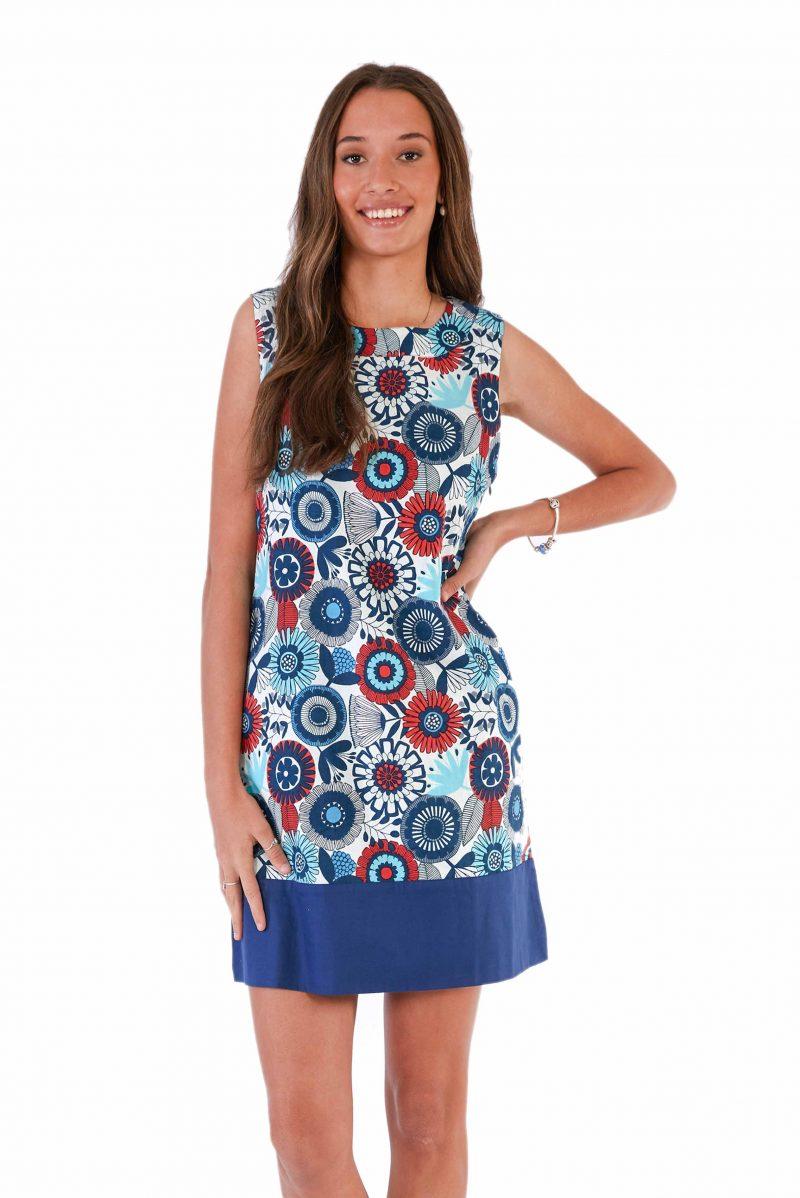 womens Millie Dress - Passion Flower