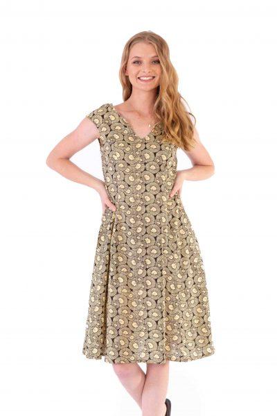 Womens Gracie Dress - Chrysanthemum front