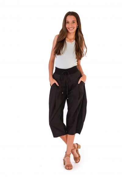 womens Yoga Pants - Black